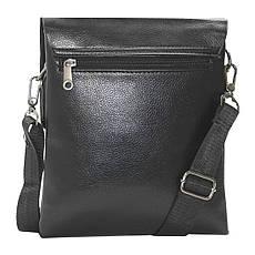 Чоловіча сумка-месенджер DIWEILU 22х26х6 вертикальна м 1856-3ч, фото 3