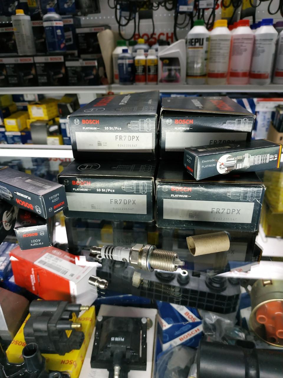 Свеча зажигания Bosch FR7DPX, 0242235547, 0 242 235 547,