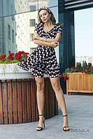 Donna-M Яркое платье с короткими рукавами Р 2218, фото 1