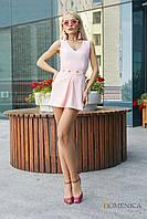 Donna-M Коротенький изысканный комбинезон с шортами-юбочка Р 2214, фото 1