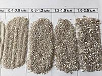 Кварцевый песок 0,8-1,2 мм 25 кг
