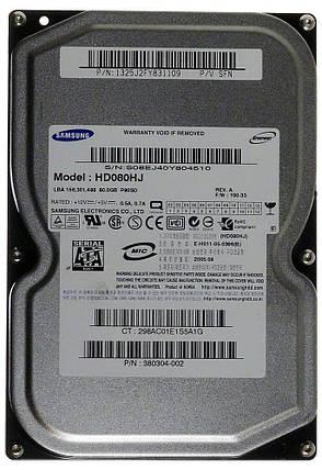 Жесткий диск Samsung 80Gb SATA, фото 2