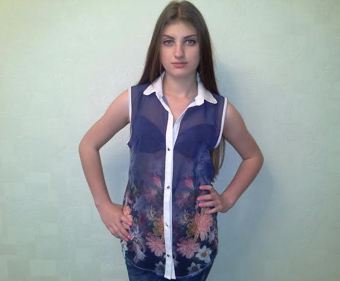 Блузка безрукавка доставка