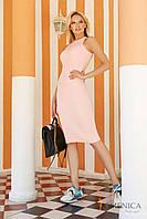 Donna-M Яркое платье в виде французской резинки V 49, фото 1