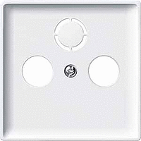 Накладка для антенной розетки белый Shneider Merten (MTN294119)