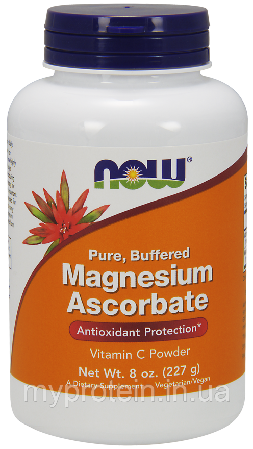 NOWВитамины и минералыMagnesium Ascorbate227 g