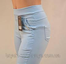 Штани жіночі літні в яскравих кольорах ( Польща) - бавовна ( залишок 11 шт), фото 2