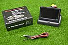 Автомобильный монитор 4,3'' складной с 2-мя видеовыходами для камеры заднего вида, фото 8