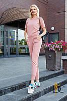 Donna-M Лаконичный облегающий костюм спортивного кроя V 53, фото 1