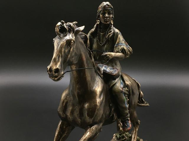Коллекционные статуэтки Индейцы Veronese