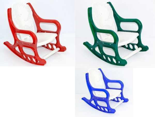 Детское кресло-качалка разные цвета