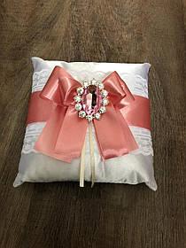 """Свадебная подушечка для колец """"Кристи"""""""