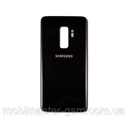Задняя крышка Samsung G965 Galaxy S9 Plus черная, фото 2