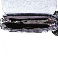 Мужская сумка-мессенджер BNSDSHU вертикальная 21х26х6  м Н2-1ч, фото 3