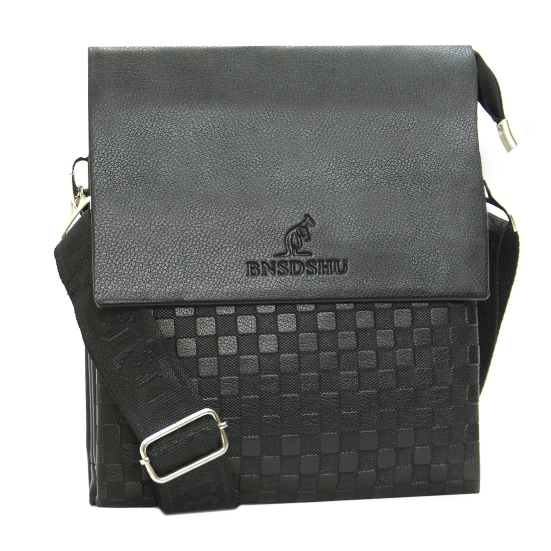 Мужская сумка-мессенджер BNSDSHU вертикальная 21х26х6  м Н2-1ч