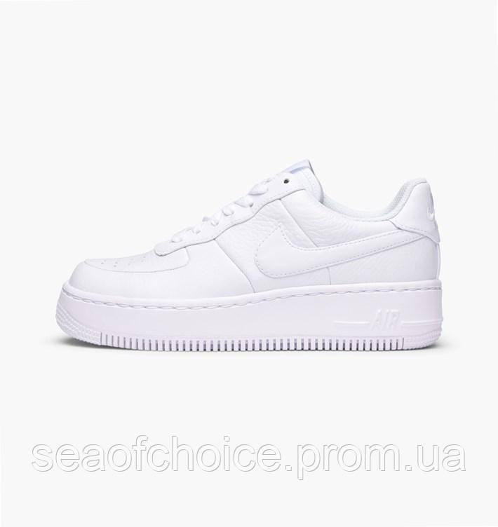 9829d742 Кроссовки Nike Air Force 1 Sage Platform White - sea OF choice в Харькове