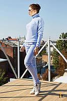Donna-M Нежный и теплый спортивный костюм с высоким воротом Р 1457, фото 1