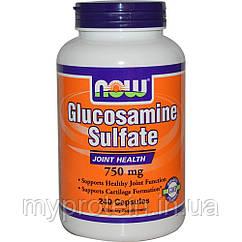 NOWДля суставов и связокGlucosamine Sulfate 750 mg240 caps