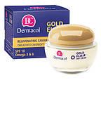Dermacol Gold Elixir Rejuvenating Caviar Day Cream  дневной крем с экстрактом икры для интенсивного омоложения