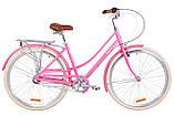 """Жіночий міський велосипед з багажником DOROZHNIK AL SAPPHIRE PH 28""""(бежевий), фото 3"""