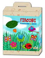 Детский набор для творчества Гипсовая раскраска Лісова родина