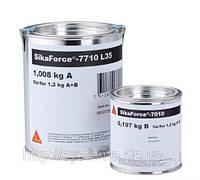 SikaForce®-7710 L 35 (A+B) - Двухкомпонентный полиуретановый клей для сборки сэндвич-панелей, 1,2 кг