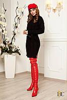 Donna-M Вязаное шерстяное платье-туника с узором V 79, фото 1
