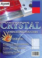 Пленка для ламинирования Agent  А4 60 мкм. 100 шт/уп. Antistatic, глянцевая  Пленка ламинационная