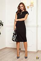 Donna-M Облегающее силуэтное платье с оригинальным вырезом Р 2349, фото 1