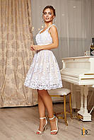 Donna-M Нежное кружевное платье на бретелях Р 2358, фото 1