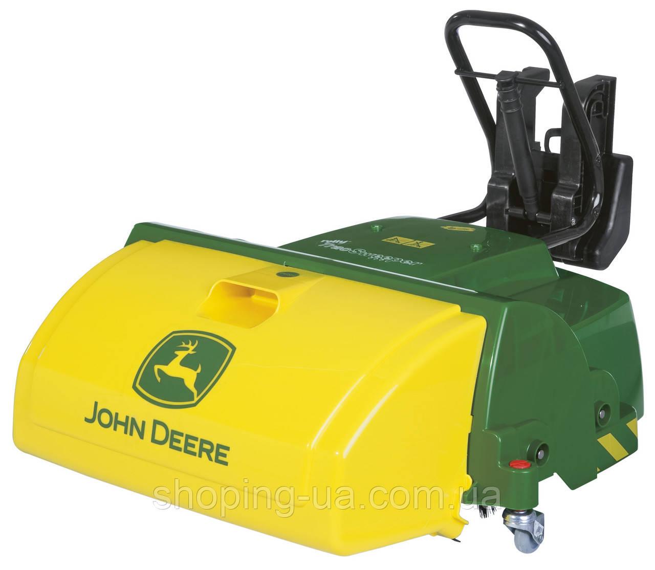 Щетка для уборки к трактору rollyTrac Sweeper John Deere Rolly Toys 409716