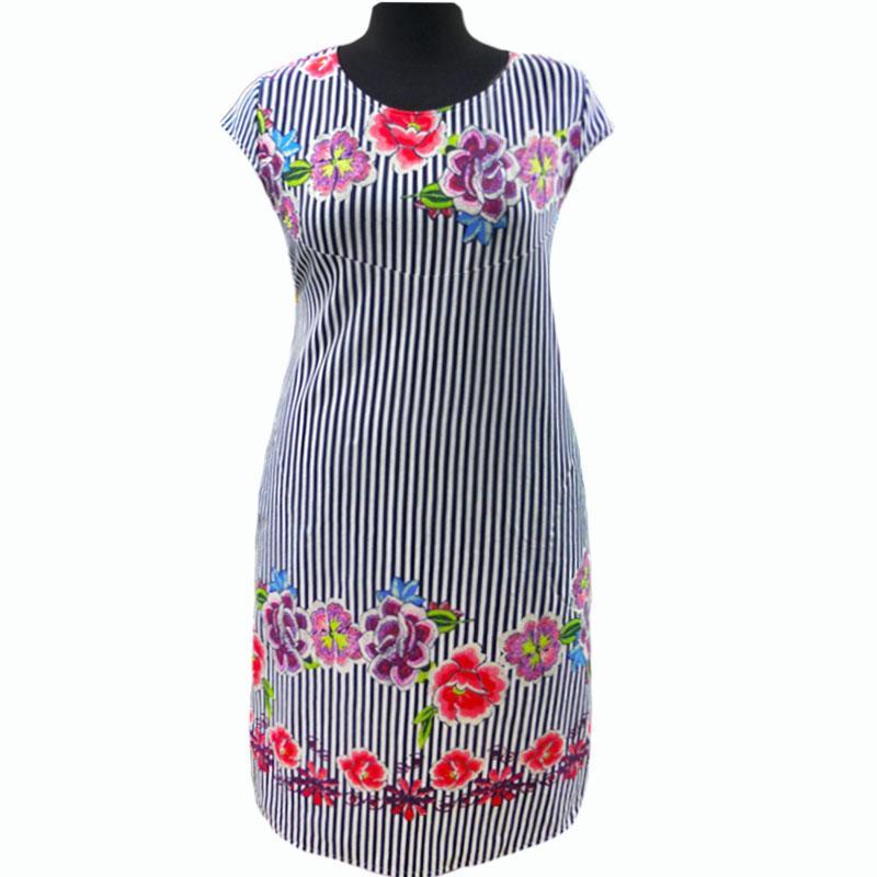 Платье молодежное купонное