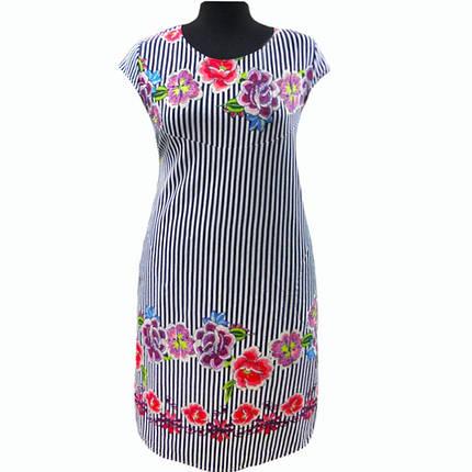 Платье купонное в цветах, фото 2