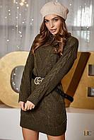 Donna-M Платье вязаное свободного фасона V 91, фото 1