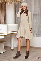 Donna-M Вязаное платье с расклешенным подолом V 102, фото 1