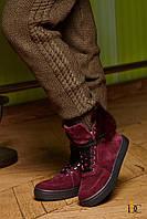 Donna-M Зимние ботиночки GUCCI с натуральным мехом Артикул 170, фото 1