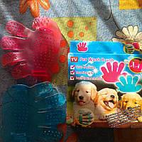 Рукавица для расчёсывания животных, фото 1