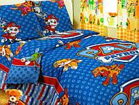 Детское (подростковое) полуторное постельное белье бязь Gold - Pat patrol