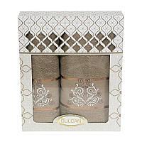 Набор полотенец Gulcan Cotton Venz Kofe 50*90 см + 70*140 см