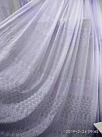 Гардина на метраж основа батист с вышивкой Высота 2.8 м, фото 1