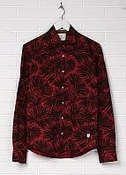 Рубашка мужская Scotch & Soda цвет красно-коричневый размер M S арт 1602.11.20060