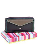 Женский кожаный кошелек Rainbow WRS-21 violet, фото 1