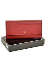 Большой женский кожаный кошелек WS-1 red, фото 1