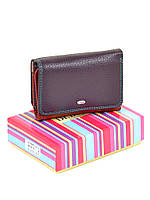 Женский кошелек на кнопке Rainbow WRS-4 violet, фото 1