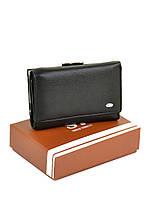 Женский кошелек из кожзама W11 black, фото 1