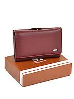 Женский кошелек из кожзама W11 date-red, фото 1