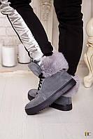 Donna-M Зимние ботинки GUCCI на натуральном меху Артикул 170, фото 1
