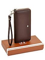 Женский кошелек-сумочка W38 coffee, фото 1