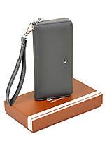 Женский кошелек-сумочка W38 grey, фото 1