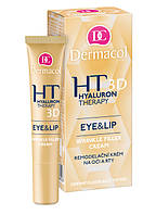 Dermacol Hyaluron Therapy 3D Eye & Lip Cream - Крем для глаз и губ, заполняющий морщины